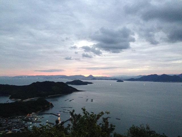 讃岐粟島からの眺望