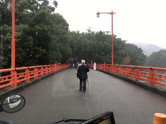 祓川橋にて
